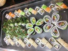 Sushi im Golden Wok